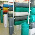 Telas de nylon para proteção contra mosquitos.