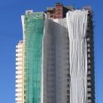 Telas de Proteção para edifícios.